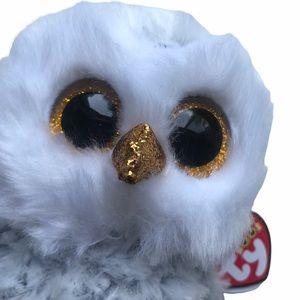 NWT TY Owlette Beanie Boo